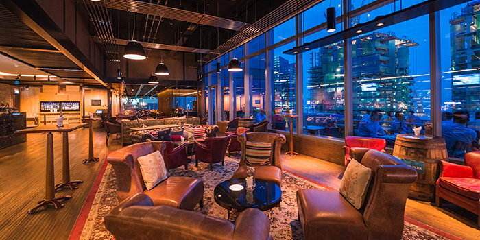 Lounge Seating of Cook & Brew at The Westin Singapore in Marina Bay, Singapore