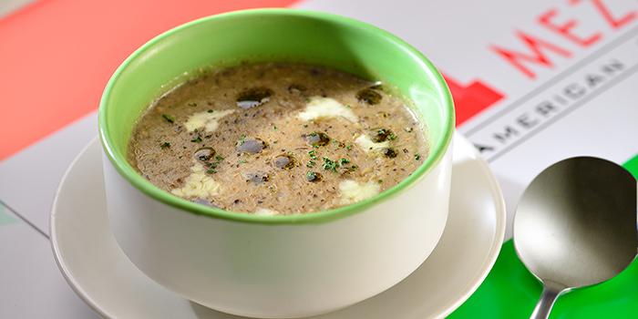 Cream of Wild Mushroom with Truffle Oil, Mezzo, Tsim Sha Tsui, Hong Kong