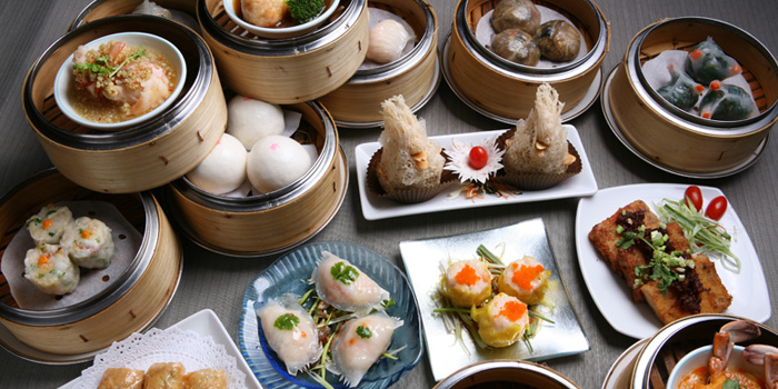 Dim Sum Set from Lin-Fa Chinese Restaurant at The Sukosol, Bangkok