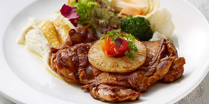 BBQ Chicken Steak from Eatzi Gourmet Bistro (Paya Lebar Square) in Paya Lebar, Singapore