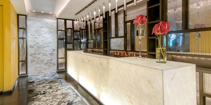 Entrance from Lin-Fa Chinese Restaurant at The Sukosol, Bangkok