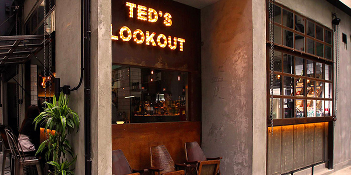 Exterior of TED