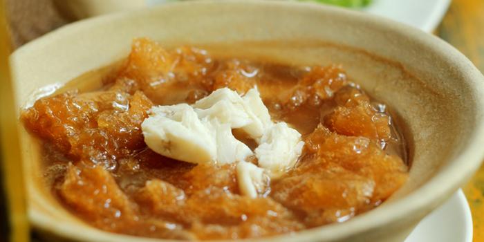 Fish Maw Soup from Lin-Fa Chinese Restaurant at The Sukosol, Bangkok