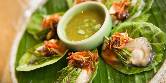 Hoi Nang Rom Song Krueng from Sea Food at Trisara in Cherngtalay, Phuket, Thailand