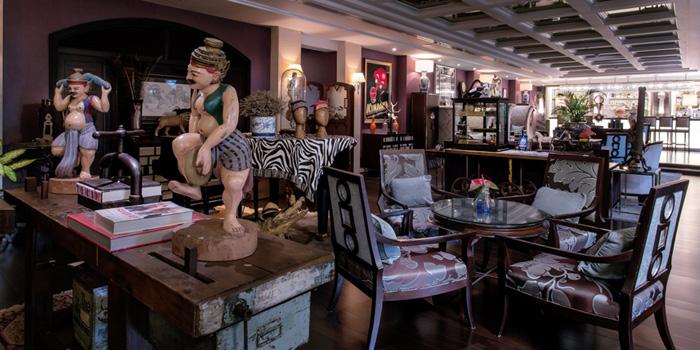 Dining Area from Sapphire Bar at The Sukosol, Bangkok