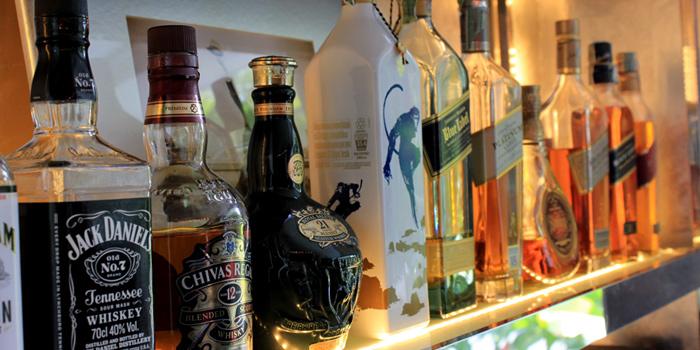 Liquor Bar from Sapphire Bar at The Sukosol, Bangkok