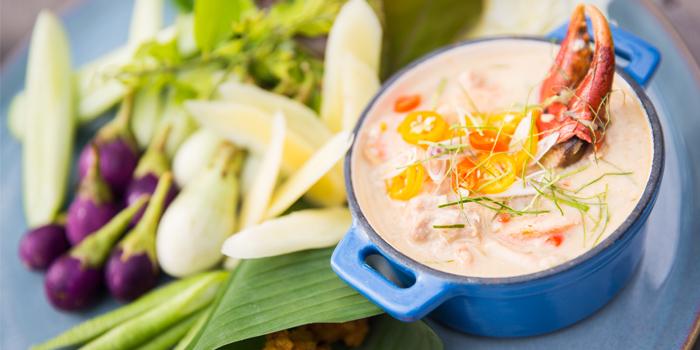 Lon Poo from Sea Food at Trisara in Cherngtalay, Phuket, Thailand