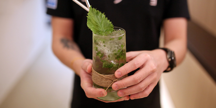 Mojito from MOJO at Telok Ayer in Raffles Place, Singapore