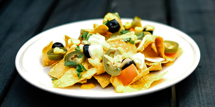 Vegetarian Nachos from Myra