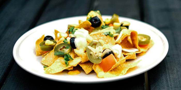 Vegetarian Nachos from Myra