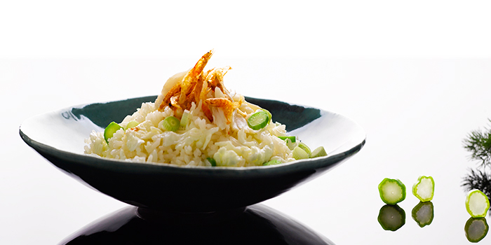 Fried Rice with Crab Meat & Sakura Shrimp from Crystal Jade Palace in Orchard, Singapore
