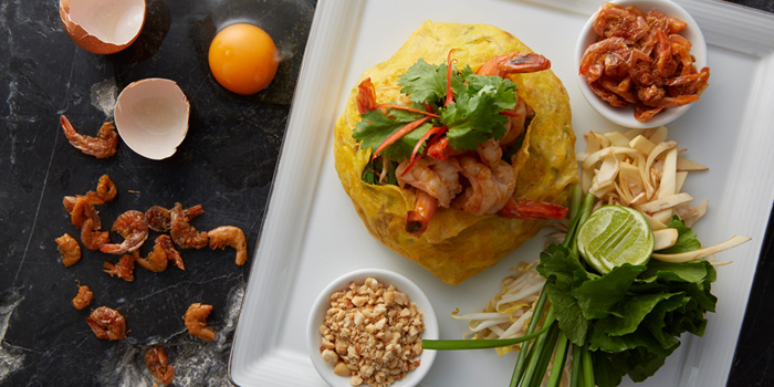 Phad Thai Goong from Patummat Restaurant at The Sukosol, Bangkok