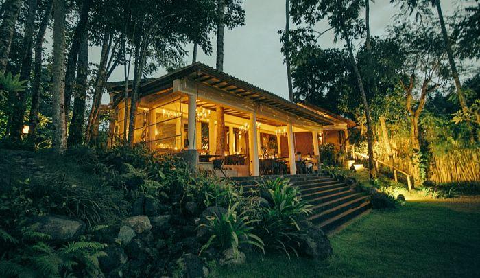 Exterior of The Sayan House, Bali