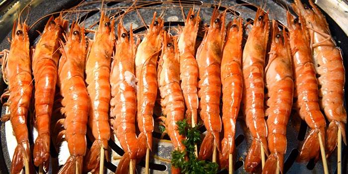 Tiger Prawns from Sea Tripod Seafood Paradise in Outram, Singapore