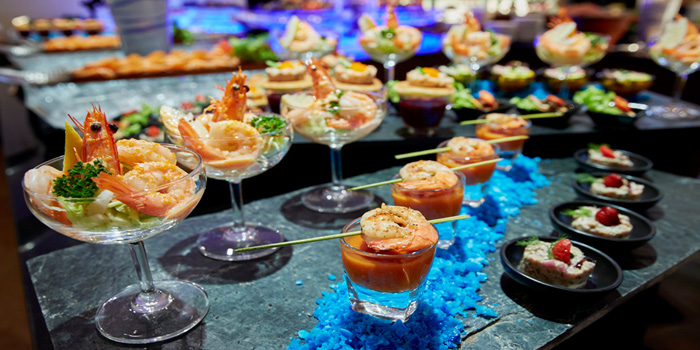 Seafood Appetizers from Patummat Restaurant at The Sukosol, Bangkok