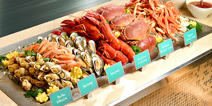 Seafood Counter, Cafe Allegro, Tsim Sha Tsui, Hong Kong