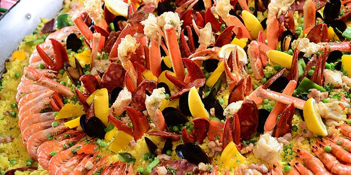 Seafood Paella, Cafe Allegro, Tsim Sha Tsui, Hong Kong