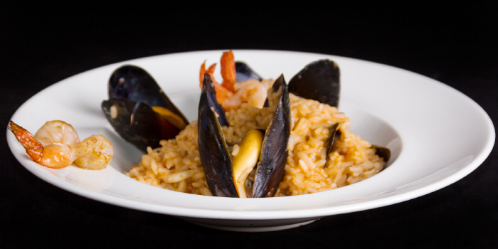 Seafood Risotto from Bellini in Chalong, Phuket, Thailand