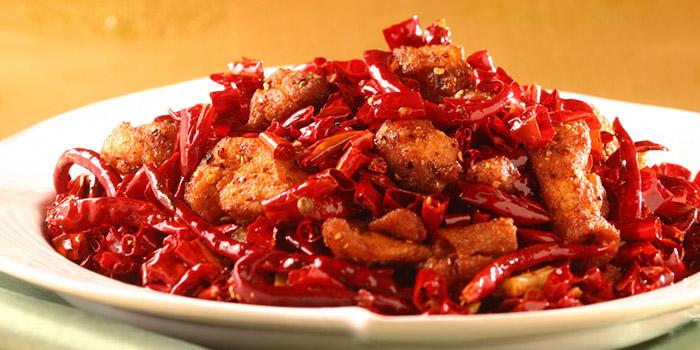 Stir-fried Chicken with Dried Chili, Regal Court, Tsim Sha Tsui, Hong Kong