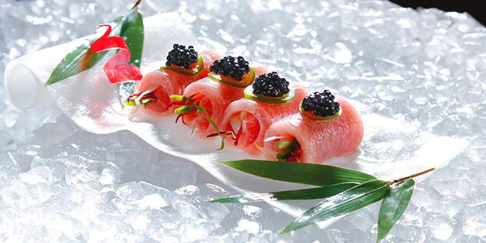 Toro Caviar from Akira Back in JW Marriott Hotel Singapore South Beach in City Hall, Singapore