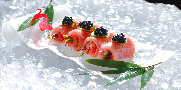 Toro Caviar from Akira Back in JW Marriott Hotel Singapore South Beach in City Hall, Singapore