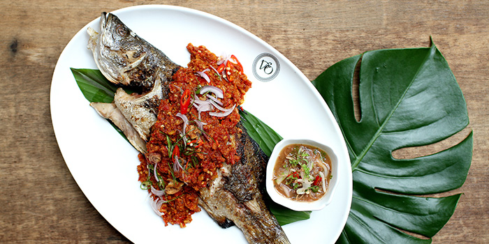 Sea Bass from Violet Oon Satay Bar & Grill in Clarke Quay, Singapore