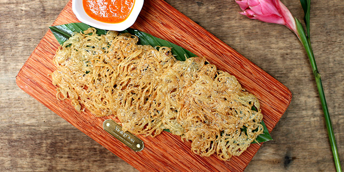 Silver Fish Fritters from Violet Oon Satay Bar & Grill in Clarke Quay, Singapore