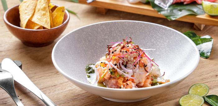 Dish 1 at The Sayan House, Bali