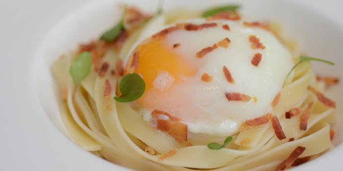 65 Degree Poached Egg from The Rain Tree Café at Plaza Athénée Bangkok, A Royal Meridien Hotel, Bangkok