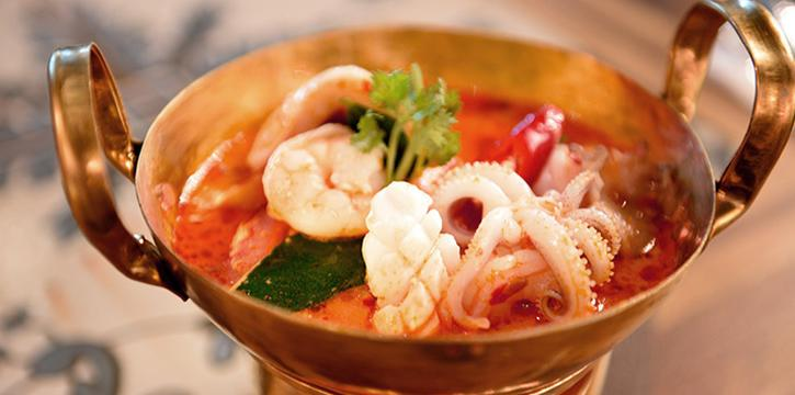 Tom Yum Soup from Folks Collective - The Vintage Shophouse (Cross Street) in Raffles Place, Singapore