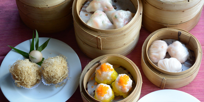 Assorted Dim Sum from Silk Road at Plaza Athénée Bangkok, A Royal Meridien Hotel, Bangkok