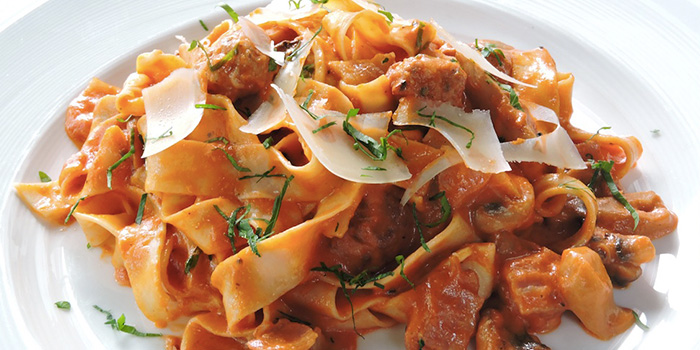 Parpadelle Boscoiala from Bella Pasta in Robertson Quay, Singapore