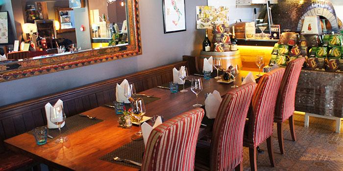 Dining Area of Baci Baci in Serangoon, Singapore