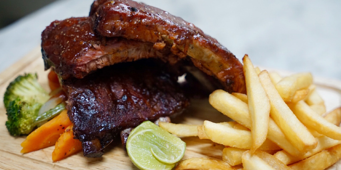 Barbecued Pork Ribs from BrewBridge Craft BEER in Cherngtalay, Phuket, Thailand.