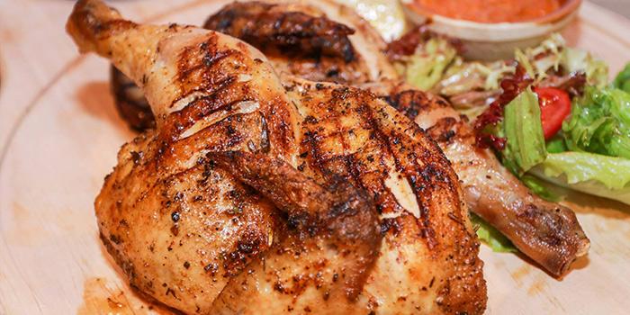 Brazilian Spring Chicken, The Nest Restaurant & Bar, Jordan, Hong Kong