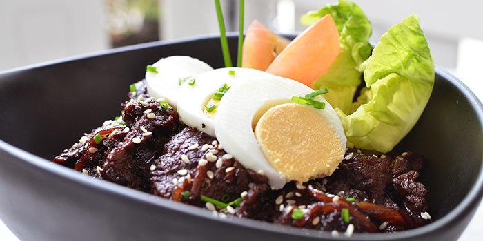 Bulgogi Beef Bowl from Little House of Dreams in Dempsey, Singapore