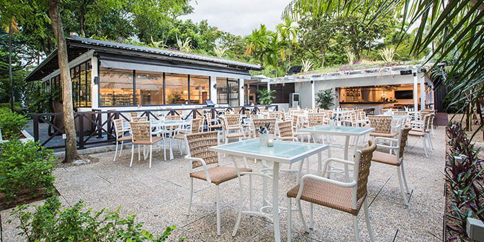 Outdoor Dining at Canopy Garden Dining in Bishan Singapore & CANOPY GARDEN DINING | CHOPE RESTAURANT RESERVATIONS