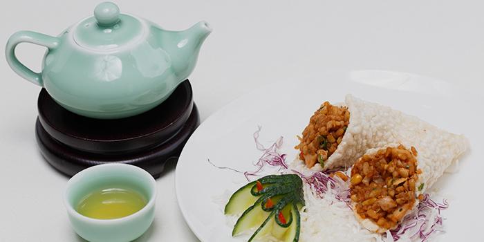 Cripsy Rice with Minced Chicken, Zhejiang Heen, Wan Chai, Hong Kong