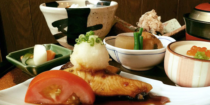 Special Buri & Salmon Teriyaki from Marusaya in Robertson Quay, Singapore