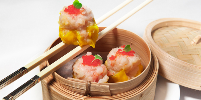 Dim Sum Shrimp Dumpling from Silk Road at Plaza Athénée Bangkok, A Royal Meridien Hotel, Bangkok