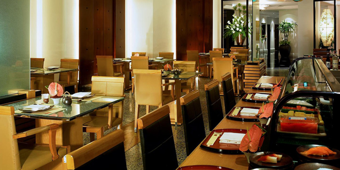 Dining Area from Utage at Plaza Athénée Bangkok, A Royal Meridien Hotel, Bangkok