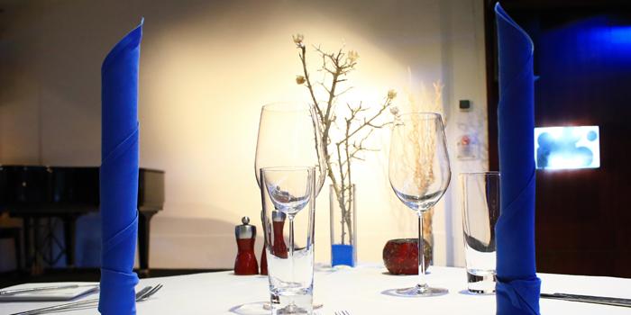 Dining Table from The Reflexions at Plaza Athénée Bangkok, A Royal Meridien Hotel, Bangkok