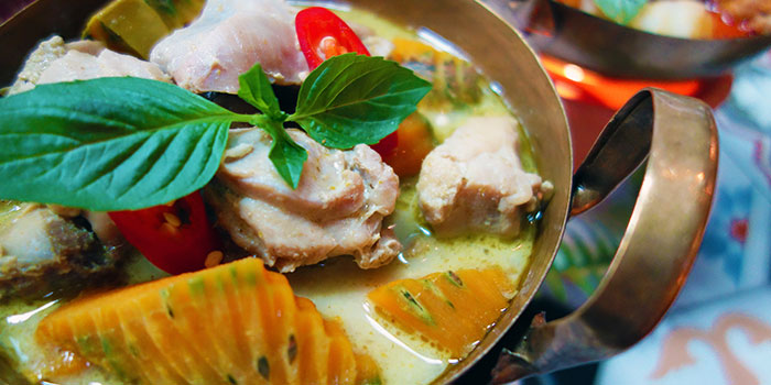 Green Curry Chicken from Folks Collective - The Grand Brasserie (Asia Square) in Marina Bay, Singapore