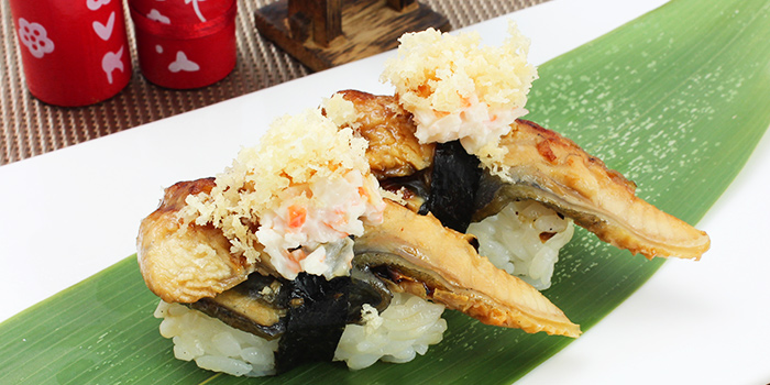 Fancy Unagi Sushifrom Shin Minori Japanese Restaurant @ Katong Square in East Coast, Singapore