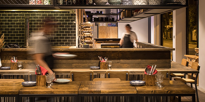 Interior of Firebake - Woodfired Bakehouse & Restaurant in East Coast, Singapore