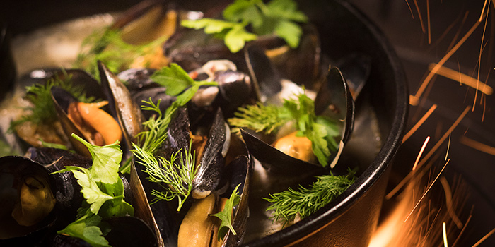 Norwegian Blue Mussels from Firebake - Woodfired Bakehouse & Restaurant in East Coast, Singapore