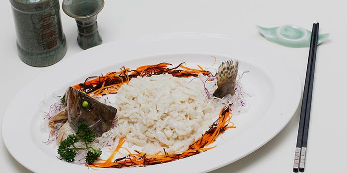 Streamed Shredded Mandarin Fish, Zhejiang Heen, Wan Chai, Hong Kong
