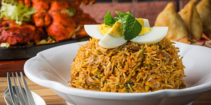 Fried Rice, The Nest Restaurant & Bar, Jordan, Hong Kong