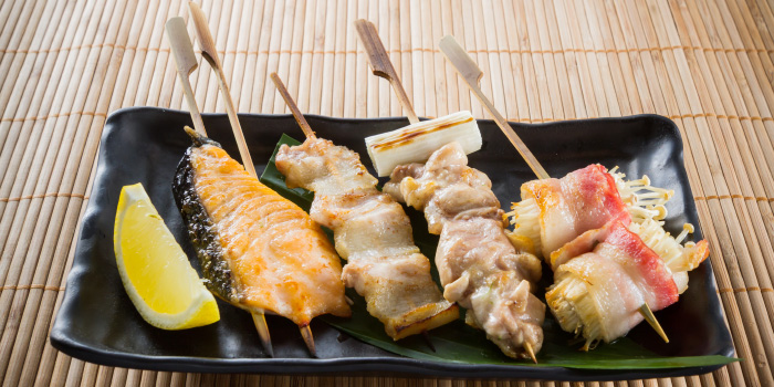 Grilled Selections from Tori Japanese Buffet Restaurant in Mueng, Phuket, Thailand
