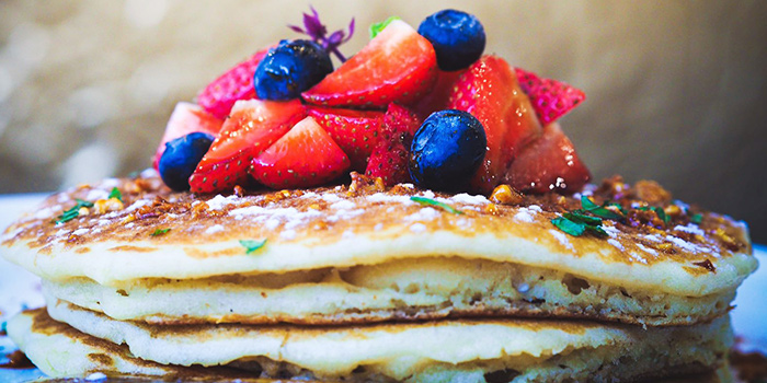 Pancake Stack from Group Therapy Coffee in Duxton, Singapore